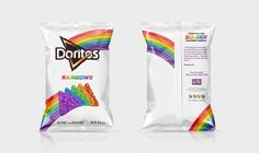 Taste The Cool Ranch Rainbow With These New Rainbow Doritos