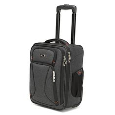 Buy the High Sierra Endeavor Wheeled Underseat Carry-On at eBags - With a small shape, this carry-on bag is perfect for all types of in-flight travel. The High Sierra Carry On Luggage, Carry On Bag, Double Chin Exercises, Computer Sleeve, Work Travel, Online Bags, Adventure Travel, 3 D