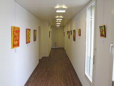 Ausstellung Tanzen! von Manuel Süess im Doktor Zentrum Behmen, Aarau, 2014 http://art-by-manuel.com