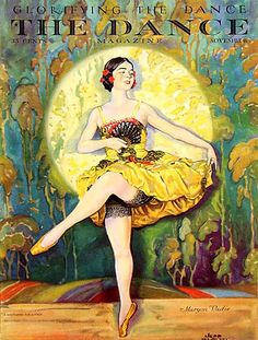 The Dance 1927 - 1920 Usa Magazines Fine Art Print. The Advertising Archives Dance Magazine, Magazine Art, Magazine Covers, Vintage Posters, Vintage Art, Vintage Graphic, Vintage Dance, Illustrations, Illustration Art