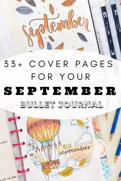 AN AMAZING LIST OF SEPTEMBER BULLET JOURNAL IDEAS THAT YOU NEED TO SEE! COVER PAGE AND WEEKLY SPREAD IDEAS IN ALL KINDS OF DIFFERENT THEMES. Click to read more. Back To School Bullet Journal, Bullet Journal September, Bullet Journal For Beginners, Bullet Journal Monthly Spread, Bullet Journal Cover Ideas, Bullet Journal How To Start A, Bullet Journal Layout, Bullet Journal Ideas Pages, Journal Covers