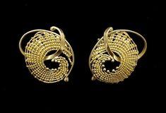 Mary Lee Hu.  Earrings.