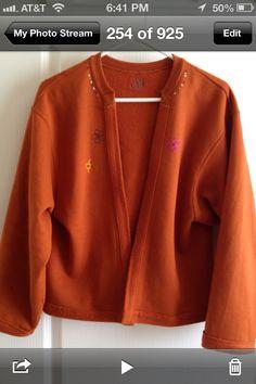 Turn a Sweatshirt into a jacket