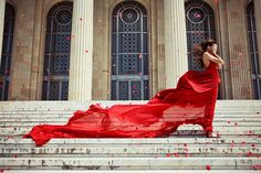 The wind and the red model