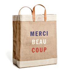 Clare V. Market Bag By Apolis Global Citizen - Merci Beaucoup