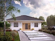 Village House Design, Village Houses, Design Case, Pool Houses, Home Fashion, Home Projects, House Plans, Garage Doors, Sweet Home