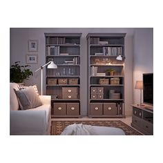 KVARNVIK Schachteln 3er-Satz - grau - IKEA
