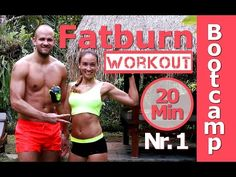 Fett verbrennen - Bauch Beine Po & Oberkörper Workout - 30 Min HIIT - Trainieren Zuhause - YouTube