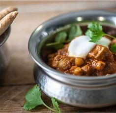 Indian Chicken and Chickpea Curry
