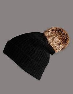 ff3ba7a8a6d Pure Cashmere Bobble Hat Wedding Guest Accessories