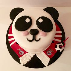 Panda Benfica Cake, SLB by Pastelices