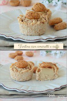 Mini Desserts, No Bake Desserts, Delicious Desserts, Dessert Recipes, Yummy Food, Mini Cakes, Cupcake Cakes, Biscotti Cookies, Italian Cookies