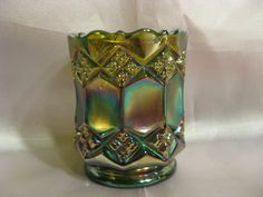 Imperial Carnival Glass Tooth Pick Holder