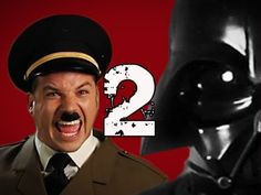 Hitler vs Vader 2.  Epic Rap Battles of History Season 2.  With a special appearance by Professor Stephen Hawkings.