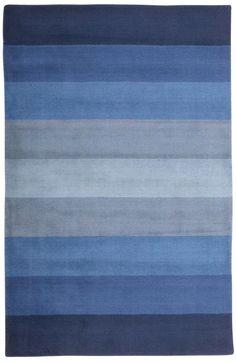 St. Croix Trading Aspect Stripes CT00 Blue Rug/400.00 8x10