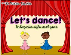 If #students choose a #sight #word card, they read it, and if they're right they get to keep it. If they choose a #dance card, they get up and dance!