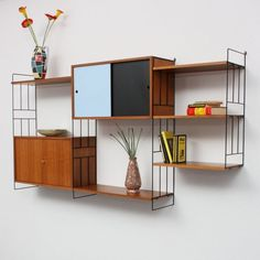 Via Velvet Point, 1960s Shelving System. Inspiration for VX: Business. svbscription.com