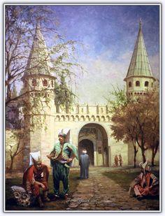 - Ressam Kamil Aslanger (1949 - ....) | Türk Ressam - Forum Gerçek ./tcc/ Istanbul, Local Painters, Sans Art, Poster City, City Scene, History Photos, Ottoman Empire, Islamic Art, Art And Architecture