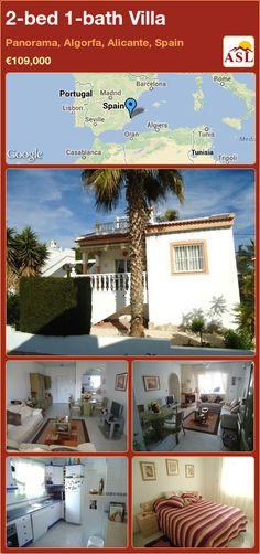 2-bed 1-bath Villa in Panorama, Algorfa, Alicante, Spain ►€109,000 #PropertyForSaleInSpain
