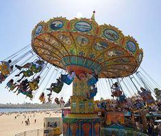 One of 10 best beach boardwalks in America! Santa Cruz Boardwalk.