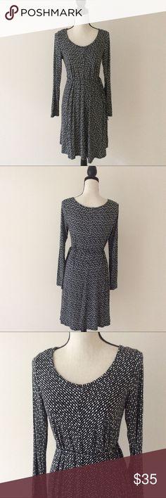 Motherhood Maternity Printed Dress # In excellent preowned condition Motherhood Maternity Dresses Long Sleeve