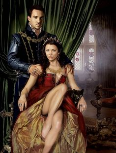 King Henry and Anne Boleyn. These two were great in their roles on The Tudors. They had smokin hot chemistry on screen!!!!