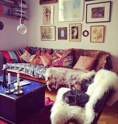 Sitting Room. Elle Decoration.