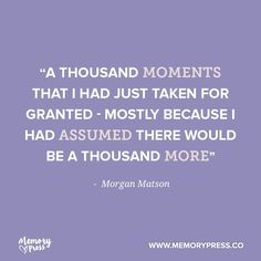 """Inspirational Quotes About Strength :     QUOTATION – Image :    Quotes Of the day  – Description  """"A thousand moments that I had just taken for granted – mostly because I had assumed there would be a thousand more"""" – Morgan Matson. A collection of short funeral quotes to... - #Strength https://quotesdaily.net/motivational/strength/inspirational-quotes-about-strength-a-thousand-moments-that-i-had-just-taken-for-granted-mostly-because-i-had-a/"""
