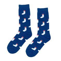 BLUE SOCKS on SOCKS sock by SOCKFAME on Etsy