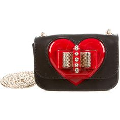 Pre-owned Christian Louboutin Sweety Charity Valentine Bag