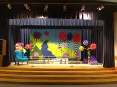 Seussical Set for a 2nd grade music program.