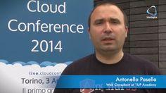 Antonello Pasella alla Cloud Conf 2014