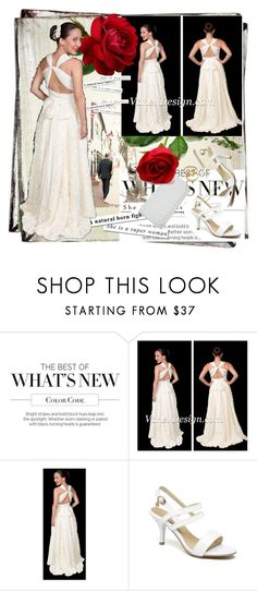 """""""Vanel Design 22"""" by k-lole ❤ liked on Polyvore featuring Elegance and maxi"""