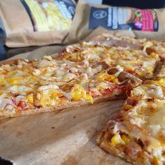 Ropogós serpenyős pizza Hawaiian Pizza, Evo
