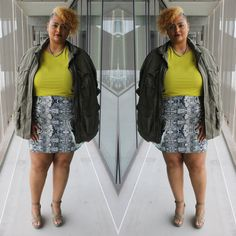Lime green & Zizzi Mode Plus, Sequin Skirt, Lime, Curvy, Sequins, Green, Skirts, How To Wear, Clothes