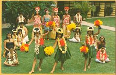 hawaii traditional clothing | ... are of the unique and beautiful Hawaii hula ladies, a rare 1908 image