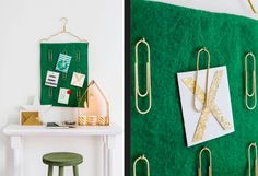 """This nice Xmas paper decoration is from our feature """"Merry Paper Perks"""""""