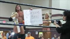"""New NWA/BOW Heavyweight Champion, Houston Carson beats Charlie Haas 3-8-14 at """"March Melee"""""""
