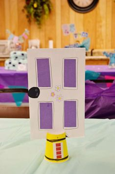 monsters inc Birthday Party Ideas   Photo 11 of 34   Catch My Party