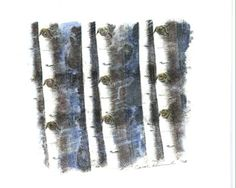 Aspen Eyes 7, 2008, by Carol Hummel (www.carolhummel.com) The eyes of the Aspen trees are beautiful and mysterious. This work on paper is one in a series created during my Colorado Art Ranch residency in Steamboat Springs.