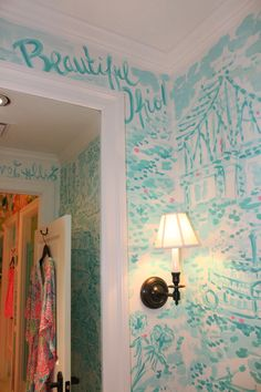 Toile Dressing Room in Lilly Pulitzer Kenwood in Cincinnati, OH