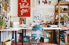 12 Cheerful and Creative Workspaces