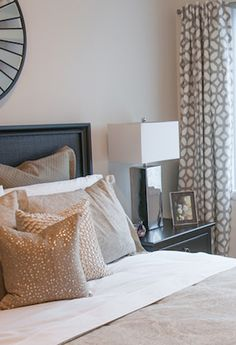 love this for your bedroom  draperies Courtyard, Oyster - 100% Linen - Tonic Living