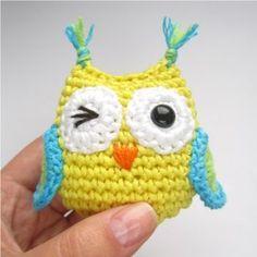 Amigurumi Owl - FREE Crochet Pattern and Tutorial