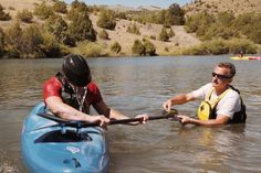 If you were blind, would you want to kayak the Colorado River? Would you even if you weren't blind? Brave!