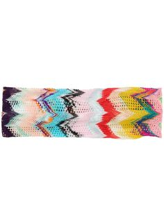 Multicolour chevron headband from missoni mare featuring a chevron pattern and a fine knit. Window Display Retail, Retail Displays, Shop Displays, Window Displays, Retail Store Design, Retail Stores, Missoni Mare, Visual Merchandising Displays, Apparel Design