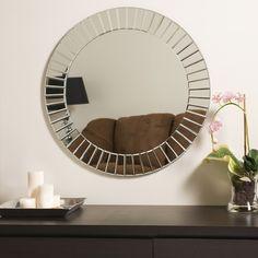 Found it at Wayfair - Laine Frameless Beveled Wall Mirror