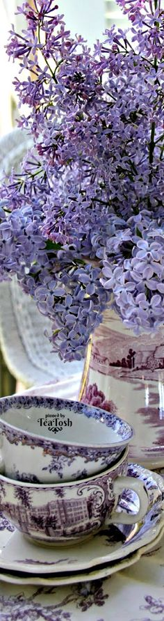 ❇Téa Tosh❇ Lilac Tea