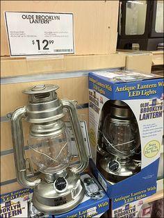 LED Vintage Kersene Lamp for Modern Preppers