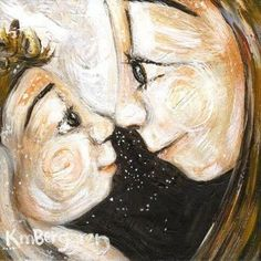 Berggren - Painting intimate moments of motherhood Baby Painting, Love Painting, Mother And Child Painting, Mother Art, Stark, Pretty Art, Mothers Love, Kids Education, Face Art